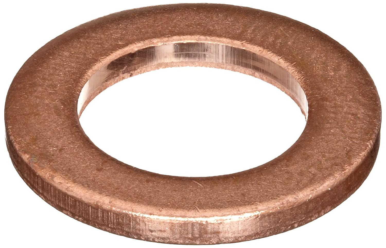 110 Copper Round Shim, Unpolished (Mill) Finish, H02/H04 Temper, ASTM B152, 0.032