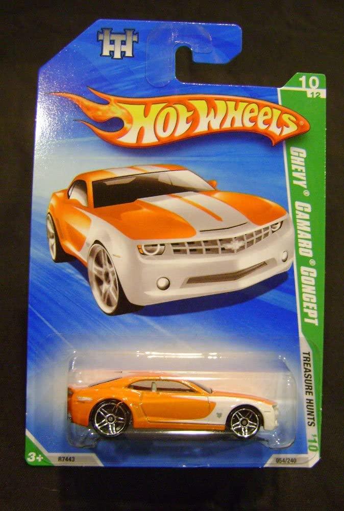 Mattel Hot Wheels Chevy Camaro Concept Treasure Hunts #10 of 12 2010 1:64 Scale