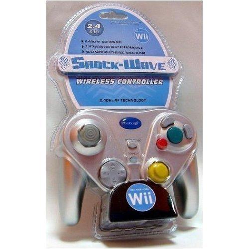 Kuma ShockWave Wireless Silver Wii/Gamecube Controller
