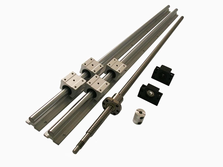 Joomen CNC SBR20 Support Rail RM2005 ballscrew 2600mm Linear Motion Kit