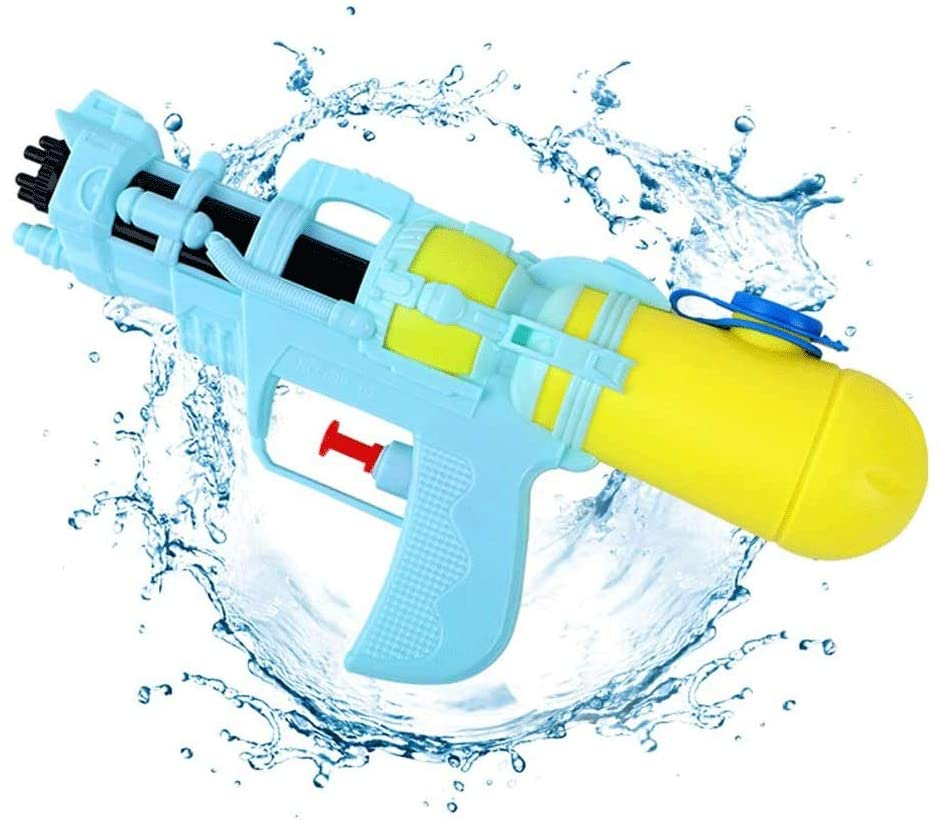 Bdesign Water Gun for Kids, Outdoor Toys Super Squirt Guns Water Soaker Blaster 8 M Kids Toys Gifts Water Fighting Play Toys (Color : Blue)