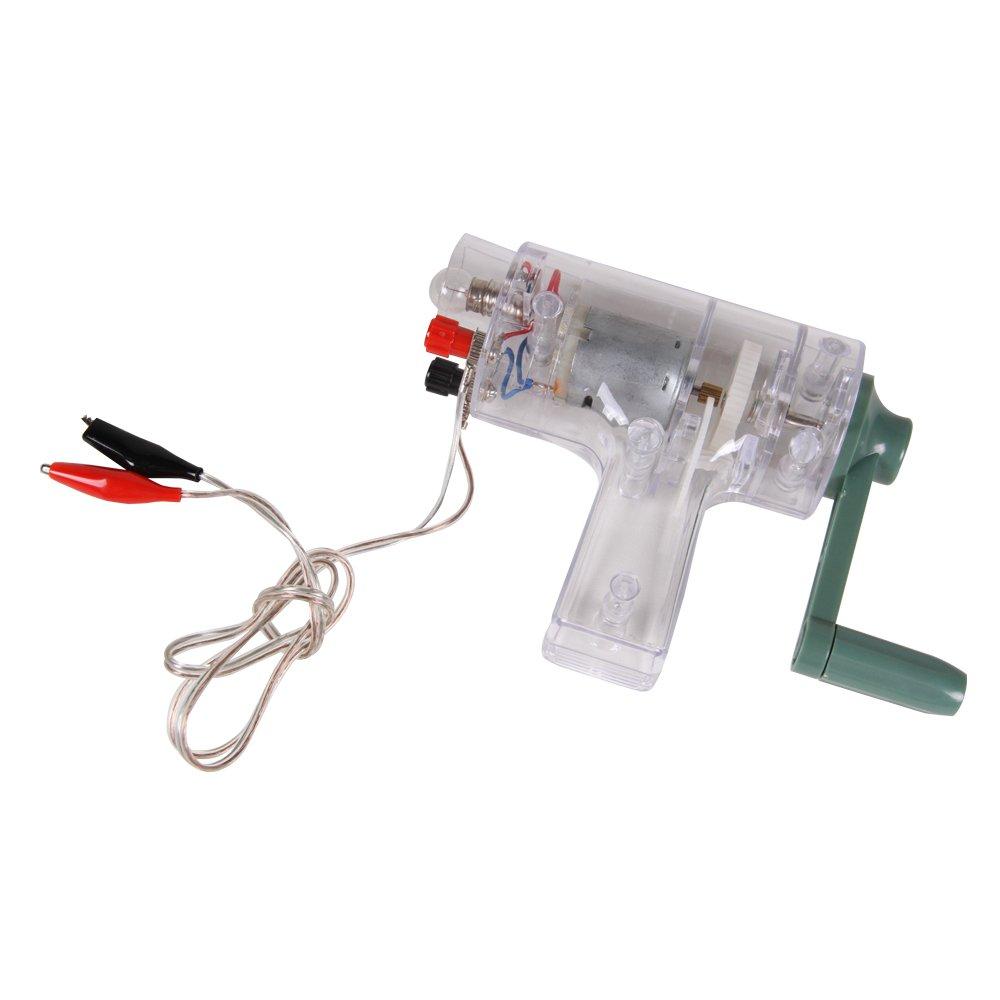 ETA hand2mind Handheld DC Crank Generator