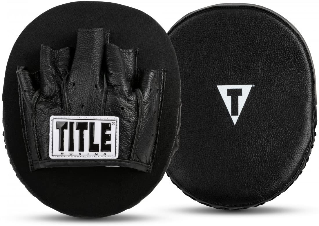 Title Boxing Razor Punch Mitts 2.0, Black