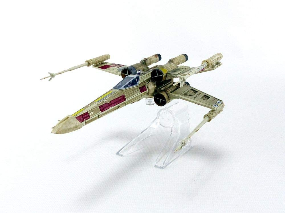 Hot Wheels Elite Star Wars Episode IV: A New Hope X-Wing Fighter Red 5 Starship Die-cast Vehicle