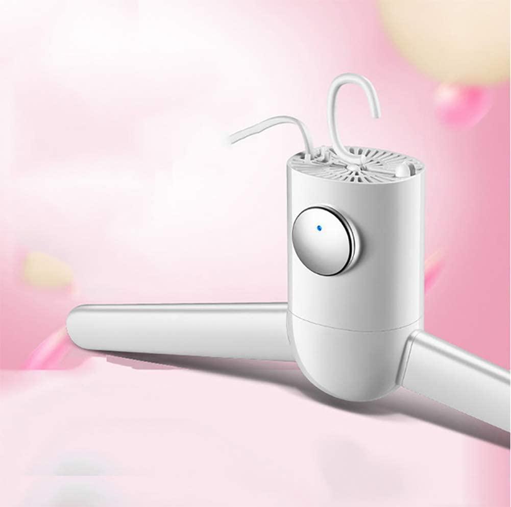 JXWWN Portable Ventless Clothes Dryer, Dryer Rack w/Heater,B