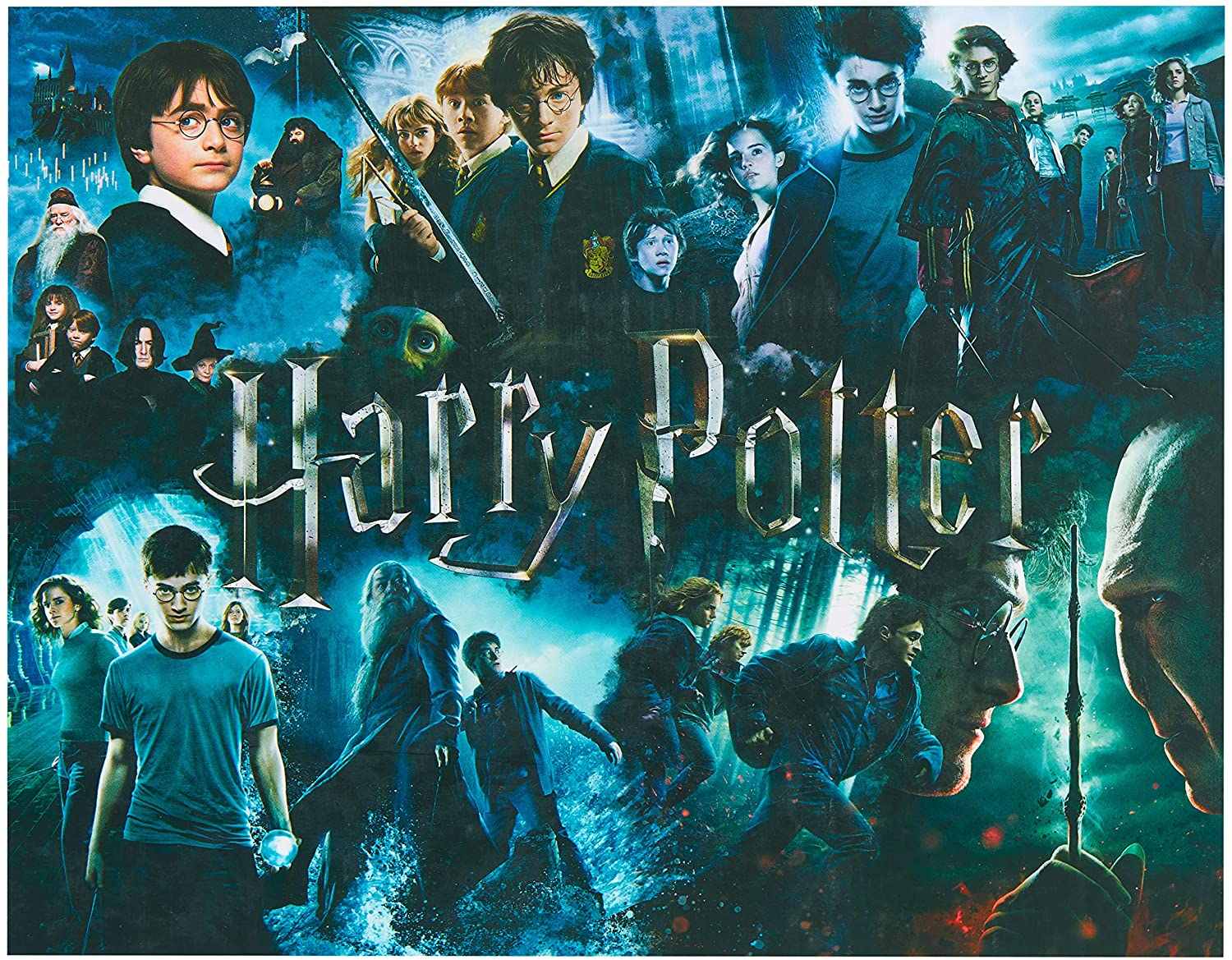 Harry Potter 1000 Piece Jigsaw Puzzle - 30in x 24in - Officially Licensed Merchandise
