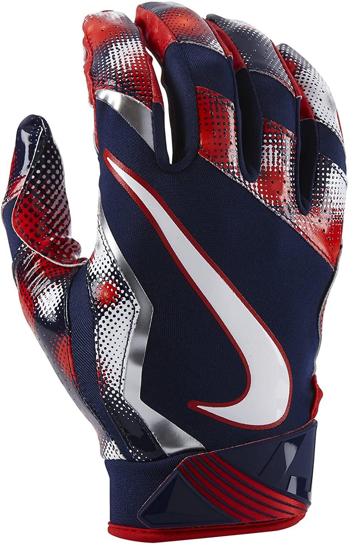 NIKE Vapor Jet 4.0 2017 Firecracker Football Gloves - Large