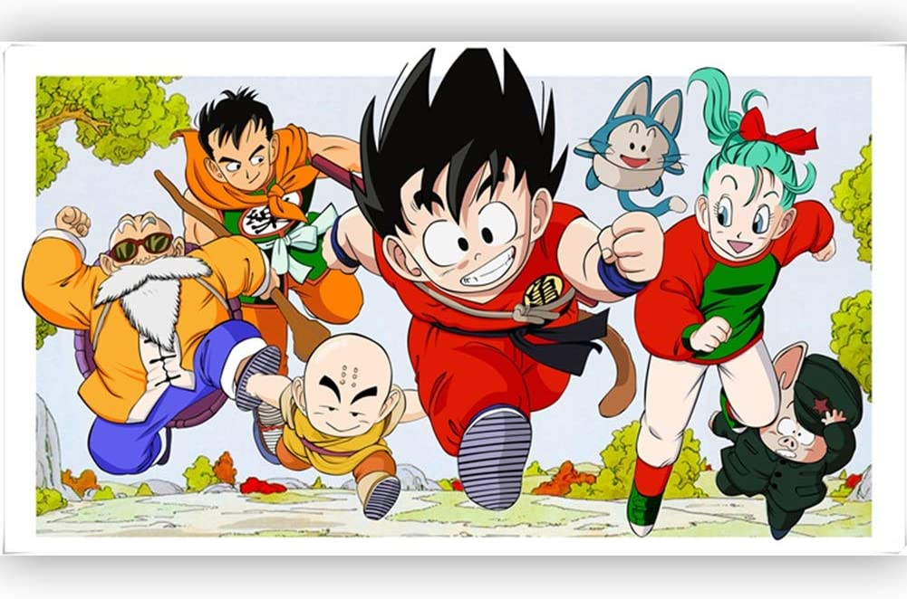 500 / 1000P Wooden Puzzle Birthday Gift Cartoon Dragon Ball Family Portrait Puzzle Educational Toy L5-19 ( Color : D , Size : 1000P )