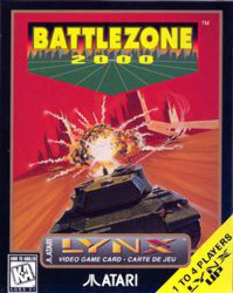 Battlezone 2000 Atari Lynx