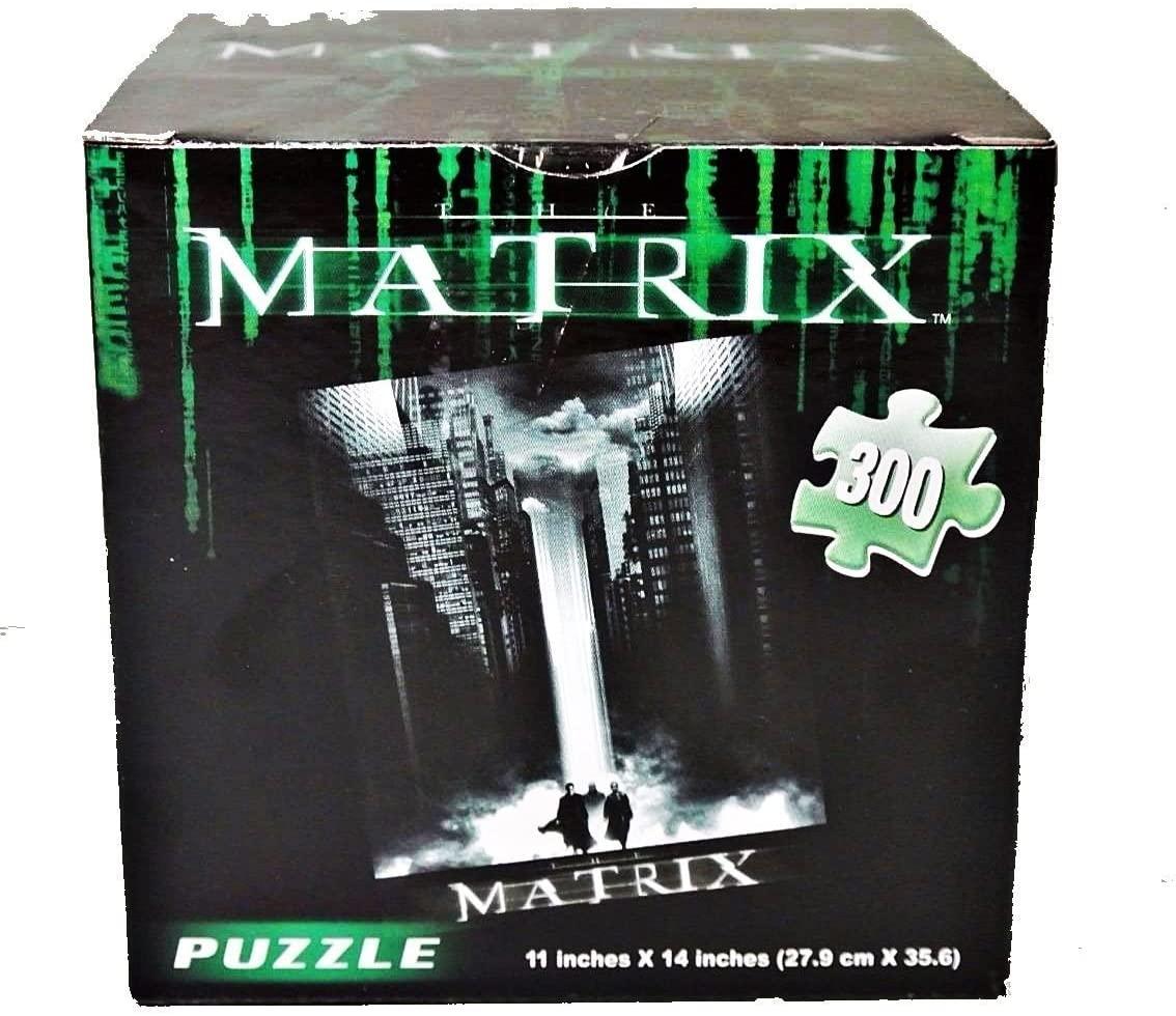 The Matrix 300 Piece 17+ Puzzle - Exclusive