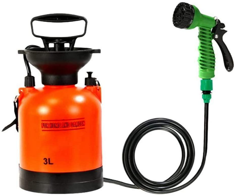 BIYLL 3L Pressure Sprayer,Lawn and Garden Pump Pressure Sprayer with Shoulder Strap for Herbicides, Fungicides Water Pump Sprayer Backpack Knapsack Pressure Crop Garden Weed.