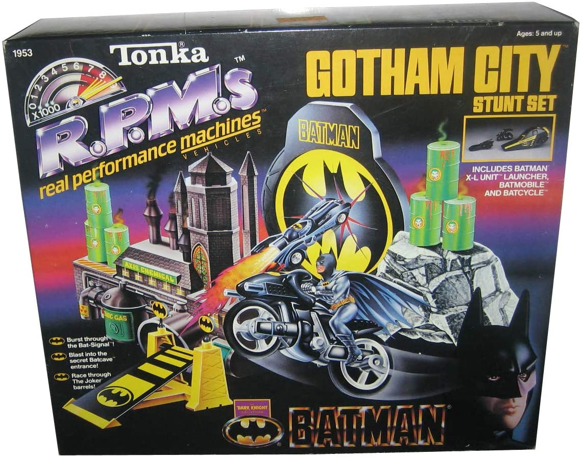 Batman Gotham City Stunt Set