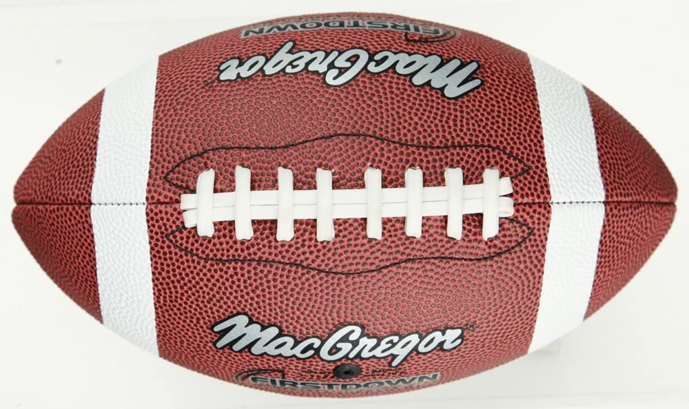 Regent MacGregor Official Size First Down Football (Tan, Medium)