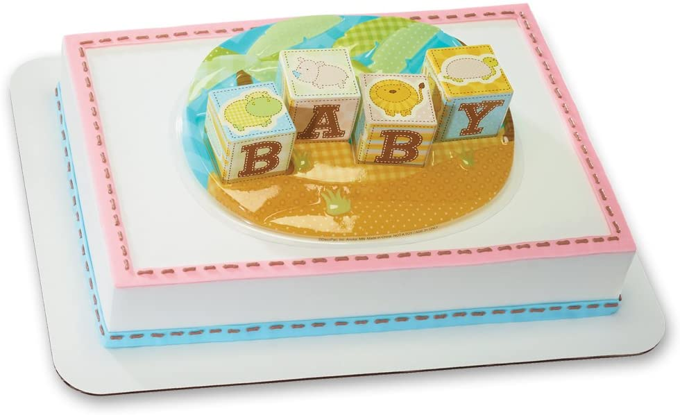 DECOPAC Safari Animal Babies DecoSet Cake Topper