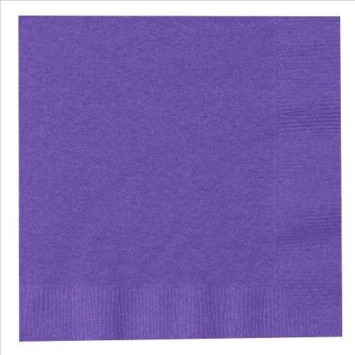 Purple Dinner Napkins : package of 20
