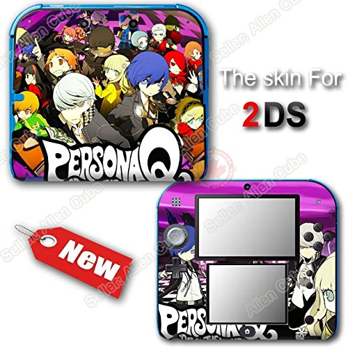 Persona Q NEW SKIN VINYL Protected STICKER DECAL COVER #1 for Nintendo 2DS