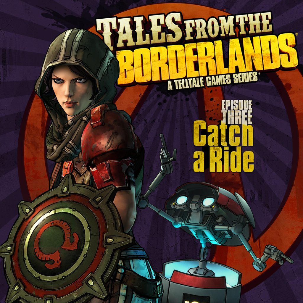 Tales from the Borderlands - Episode 3: Catch a Ride - PS4 [Digital Code]