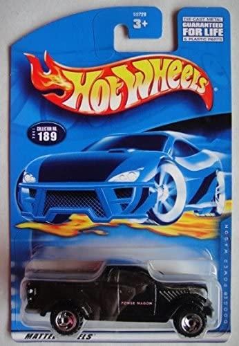 Hot Wheels Black Dodge Power Wagon #189 Razor Wheel