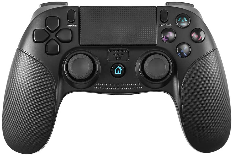 STOGA Game Controller Compatible with PS4, Comfortable Grip Wireless Controller Gamepad with Vibration Feedback, 3.5mm Audio Jack
