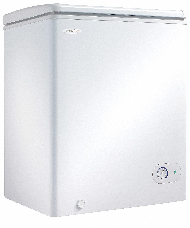 Danby Compact Chest Freezer, 3.8 Cu. Ft.