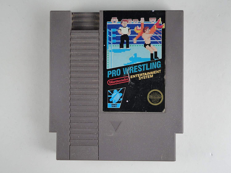 Pro Wrestling Original Classic Nintendo NES Game