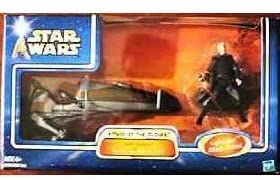 AOTC Darth Tyranus's Geonosian Speeder Bike