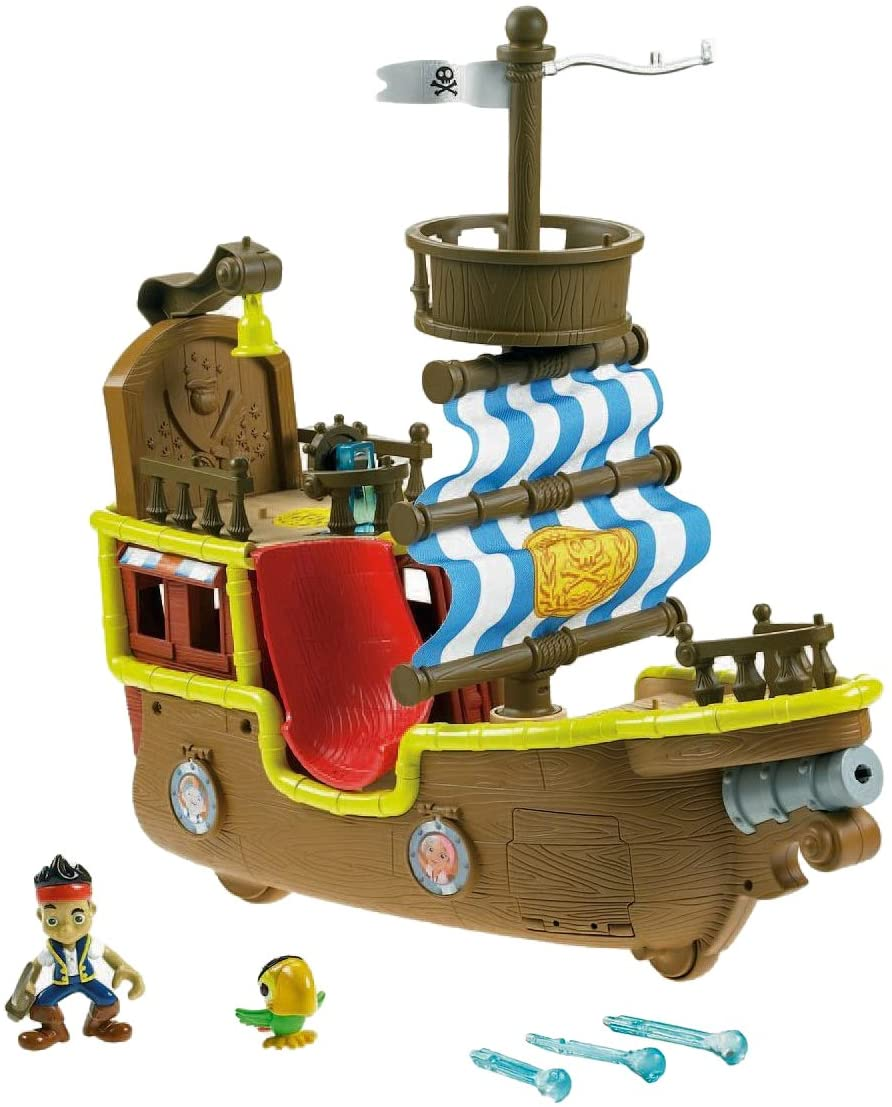 Fisher-Price Disney's Jake and The Never Land Pirates - Jake's Musical Pirate Ship Bucky [DHgate Exclusive]