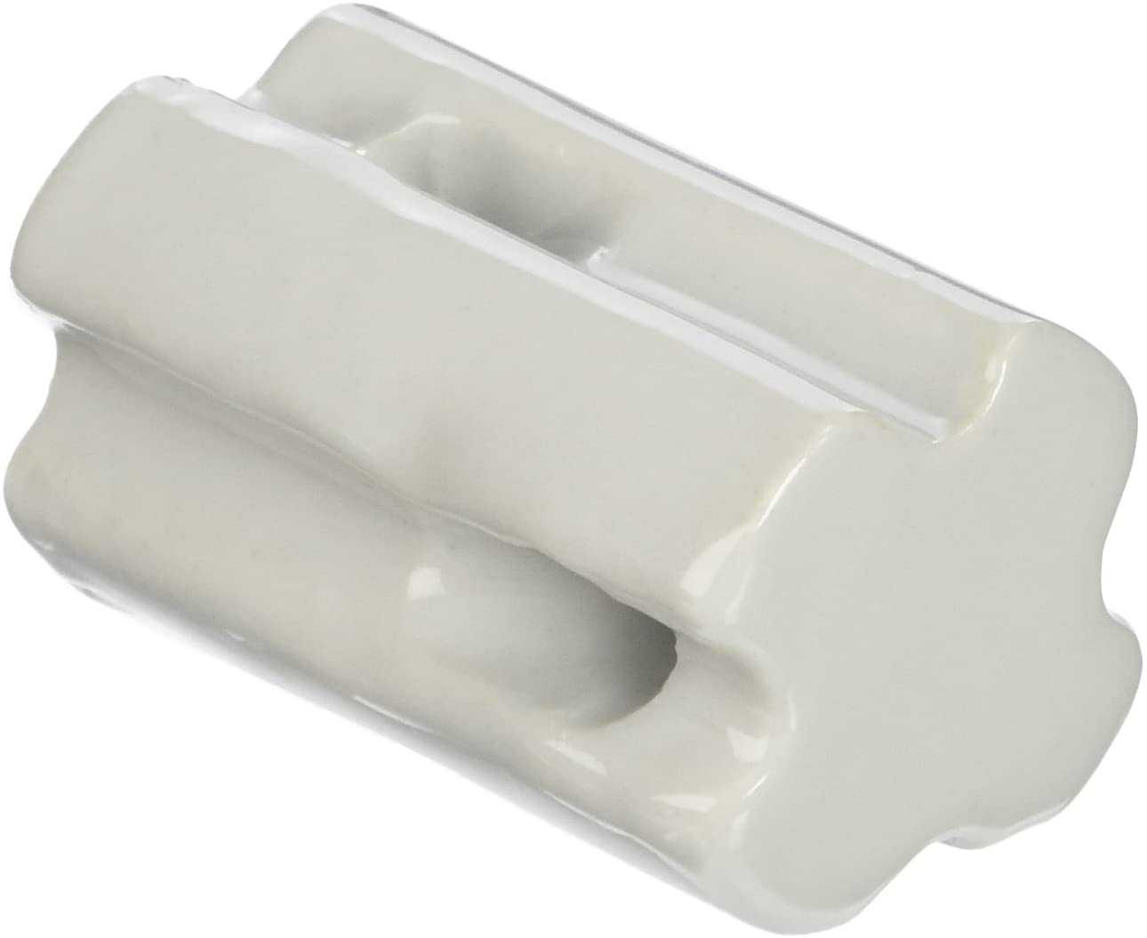 Gallagher G692034 10-Pack Porcelain Bullnose Electric Fence Insulator, White