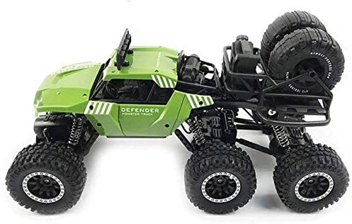 Xuess Big Foot Mountaineering Car Toys 1/14 Scale Remote Control Truck 2.4G RC Car 20KM/H 6WD Desert Buggy Children Gifts Kids Toy Educational Toys