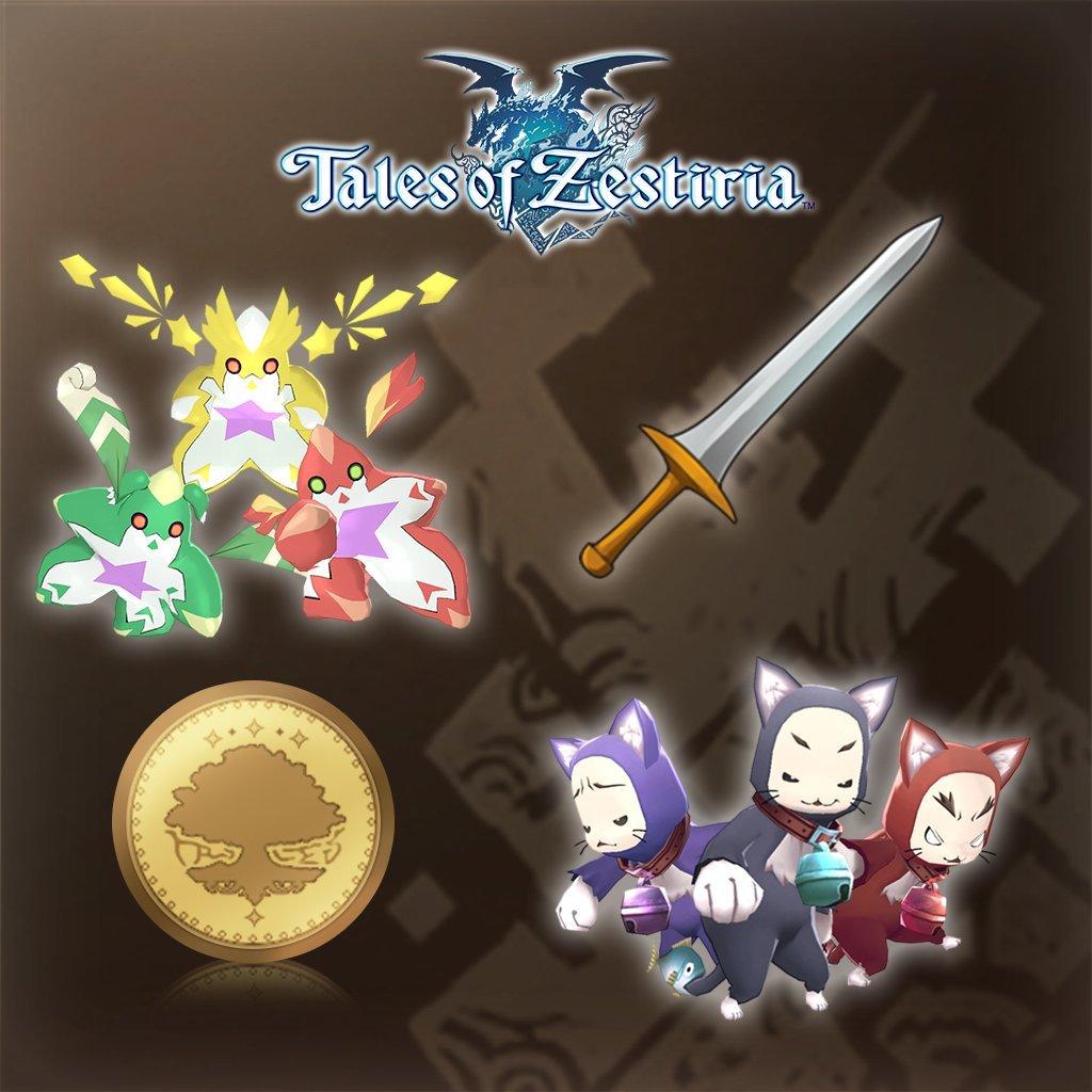 Tales Of Zestiria - Adventure Items Speed Run Kit - PS4 [Digital Code]