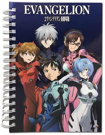 Great Eastern Entertainment Neon Genesis Evangelion Group Notebook Journal