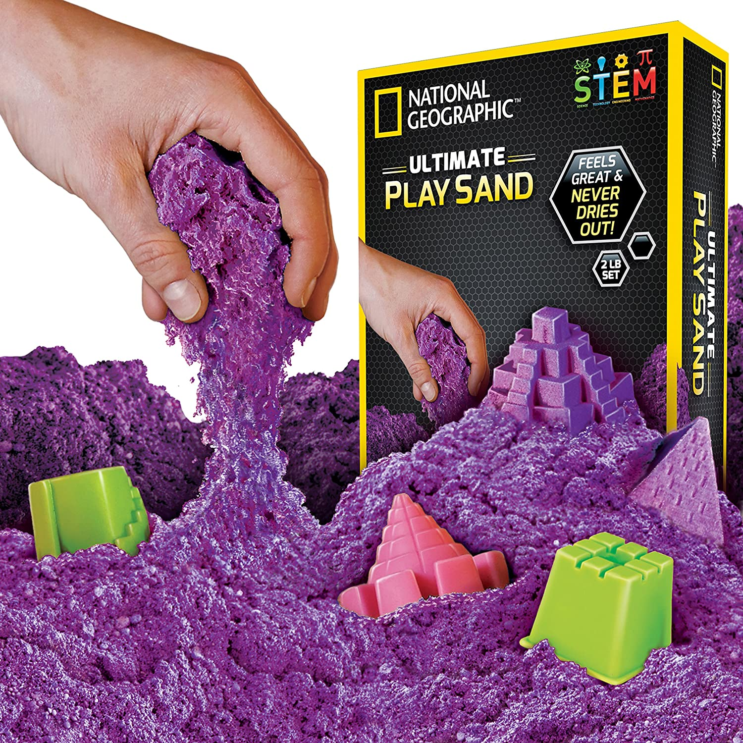 NATIONAL GEOGRAPHIC 81273 Play Sand Toy, Purple