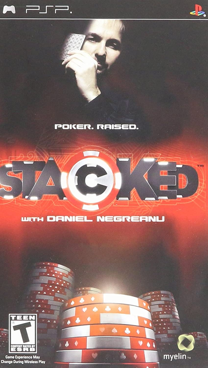 Stacked with Daniel Negreanu - Sony PSP