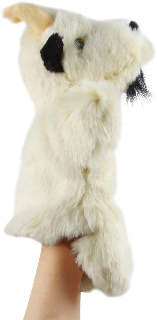 Andux Land Cute Plush Hand Puppet Soft Stuffed Animal Toy (SO-18 Old Goat)