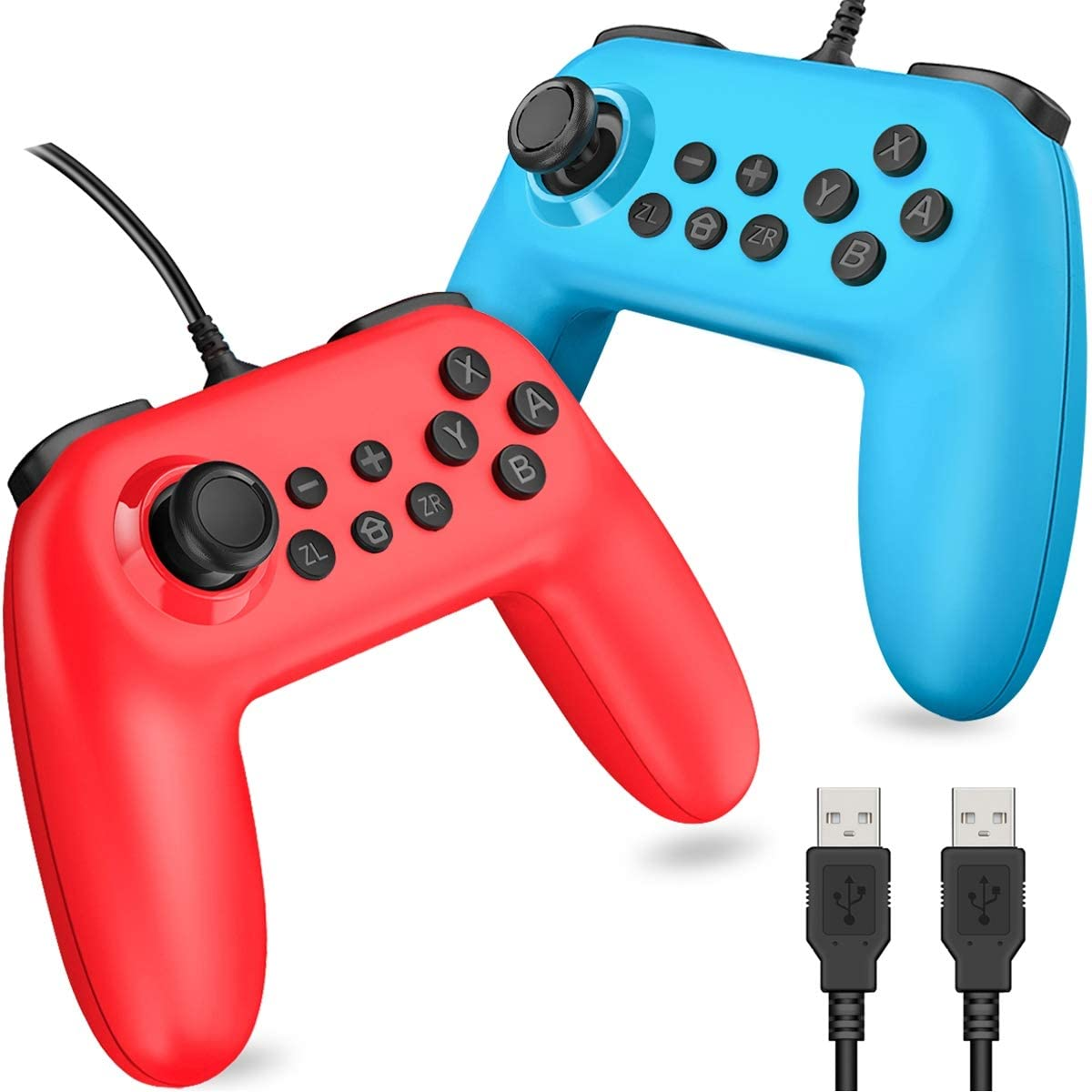 BEBONCOOL Wired Switch Controller, Wired Controller for Nintendo Switch, Switch Remote Gamepad Alternative of Joy-Con