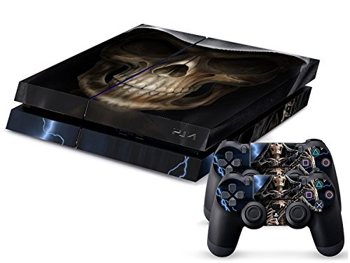 CSBC Skins Sony PS4 Design Foils Faceplate Set - Grim Reaper Design