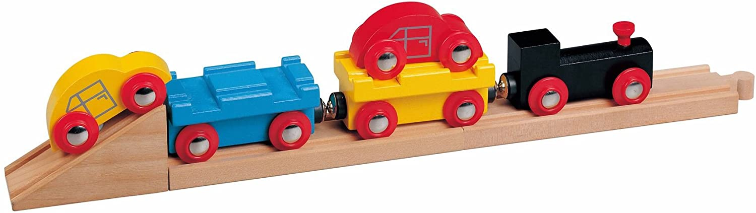 Toys For Play Car Transporter Train