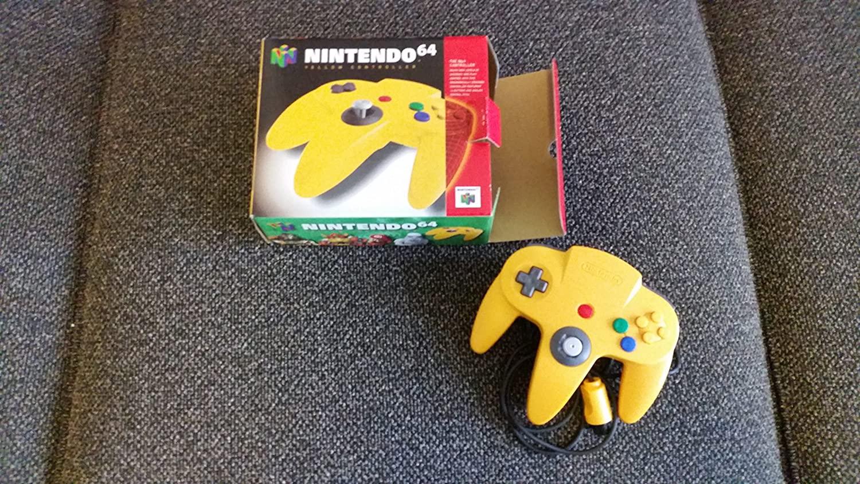 Nintendo 64 Controller - Yellow