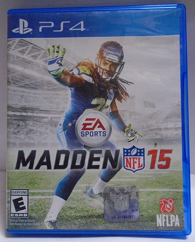PS4 PLAYSTATION 4 MADDEN -- NFL 15