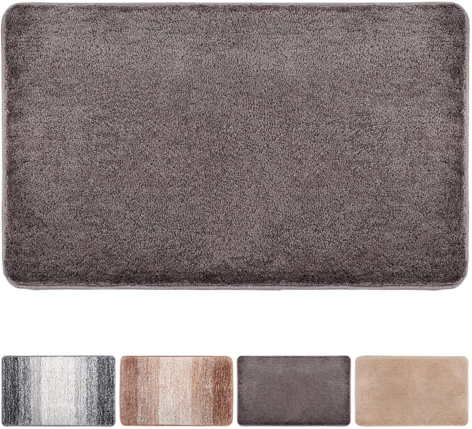 Indoor Doormat Front Door Mat Non Slip Rubber Backing Absorbent Mud and Snow Magic Inside Dirts Trapper Mats Entrance Rug Machine Washable (20