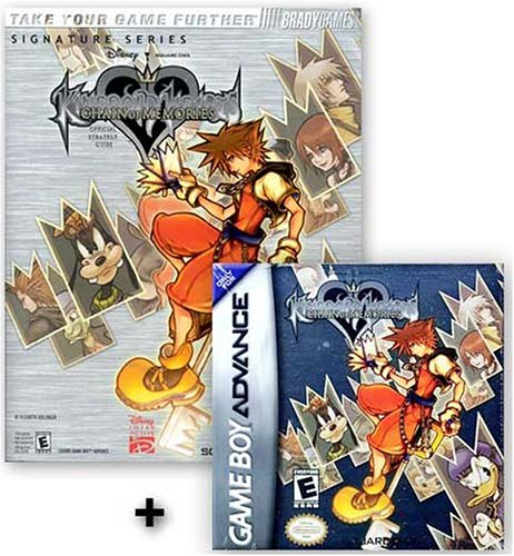 Kingdom Hearts: Chain of Memories + Official Strategy Guide Gameboy Advance