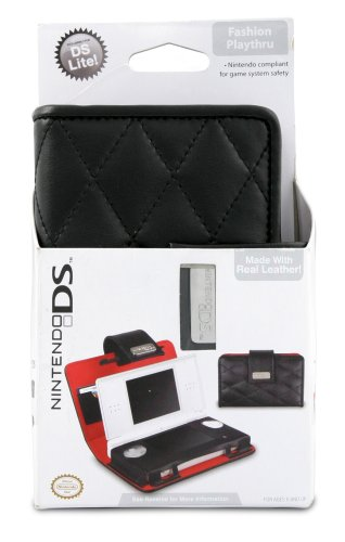 Nintendo DS Lite Quilted Play-thru - Black