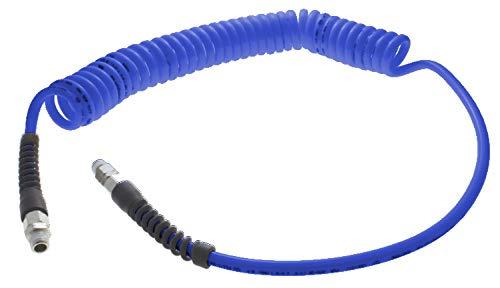Advanced Technology Products TT-1332-15-NB-RS Technithane Spiral Tubing, NPT Swivel Fitting, NPT Rigid Fitting, 13/32