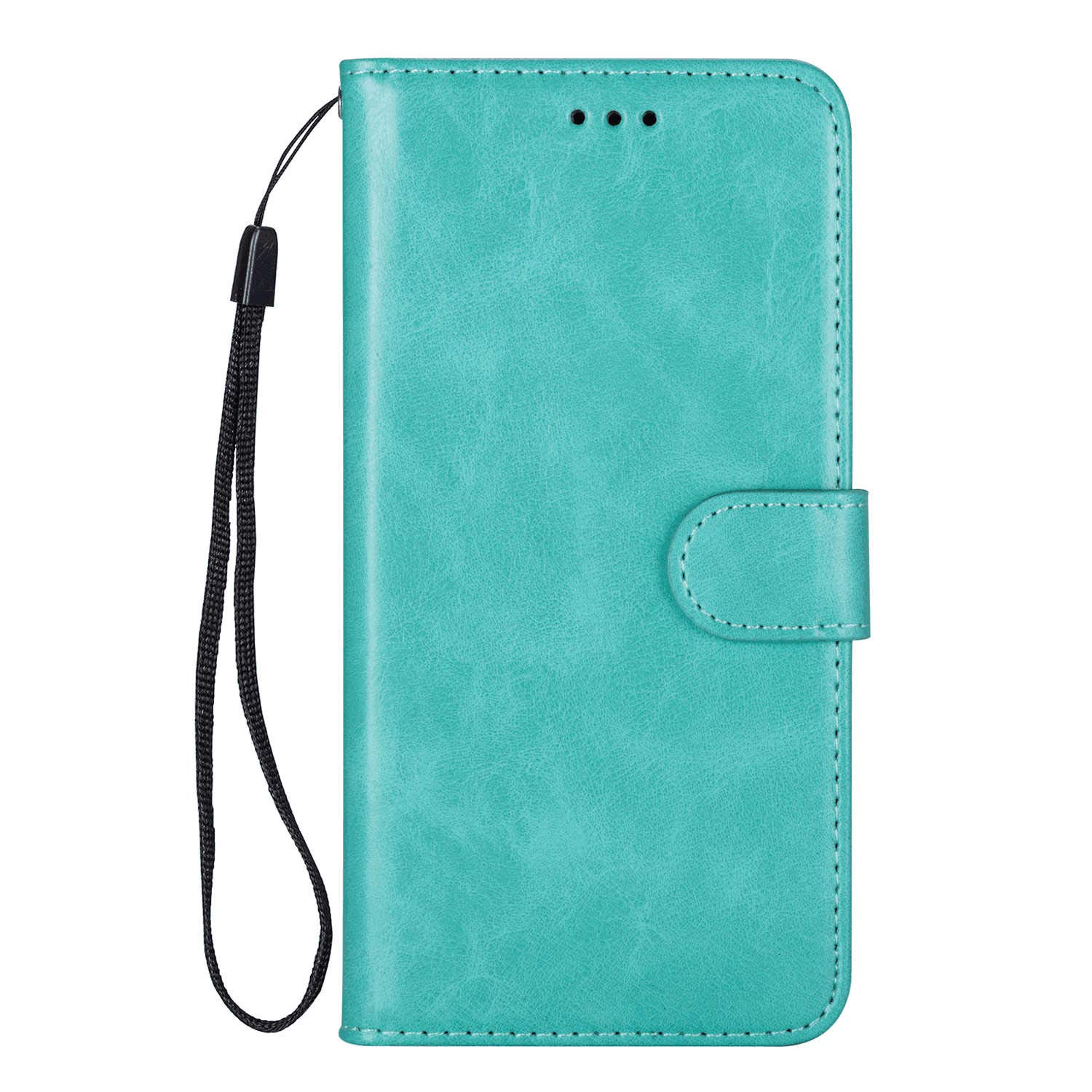 Simple Flip Case Fit for Samsung Galaxy S10 5G, Green Leather Cover Wallet for Samsung Galaxy S10 5G