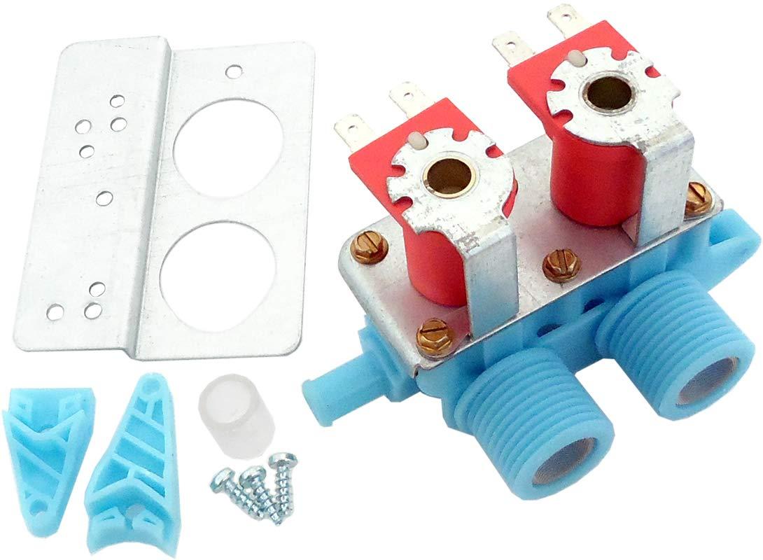 ClimaTek Upgraded Washer Washing Machine Water Inlet Valve fits Kenmore Whirlpool 97649 99989696 AH348482