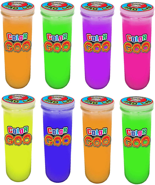 JA-RU Mad Lab Color Goo Party Favor Bundle Pack