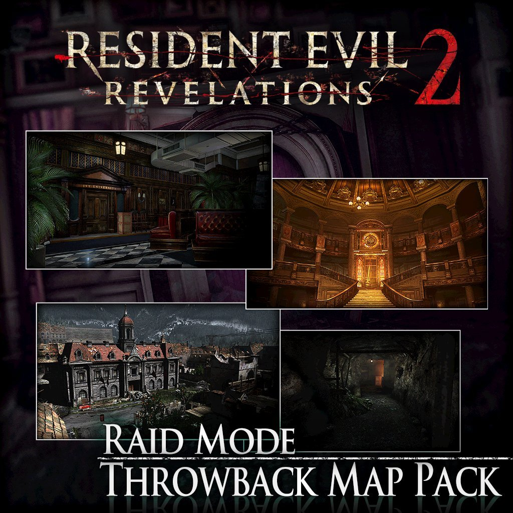 Resident Evil Revelations 2: Raid Mode: Throwback Map Pack - PS4 [Digital Code]