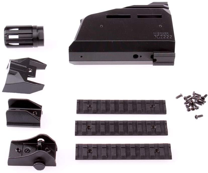 WORKER No.107 Scorpion EVO3 Front Tube Kit(Front Tube Adaptor not Included) for Nerf Stryfe