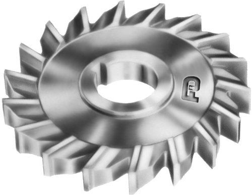F&D Tool Company 10969-A6033 Side Milling Cutter, High Speed Steel, 10