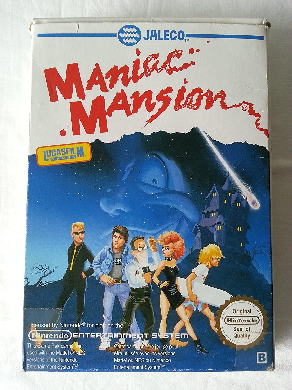 Maniac Mansion - Nintendo NES